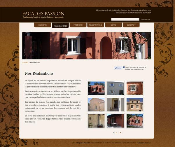 Aperçu du projet : Façades Passion