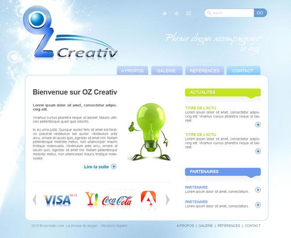 Aperçu du projet : OZ Creativ