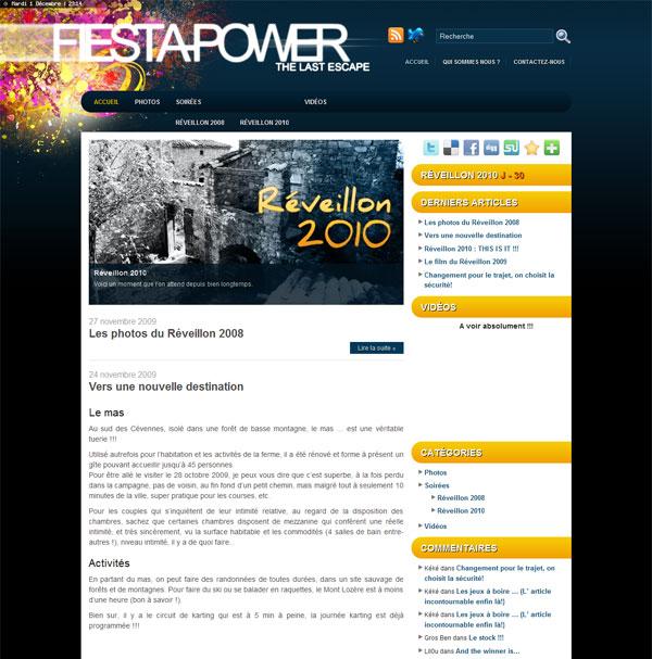 Aperçu du projet : Fiesta Power