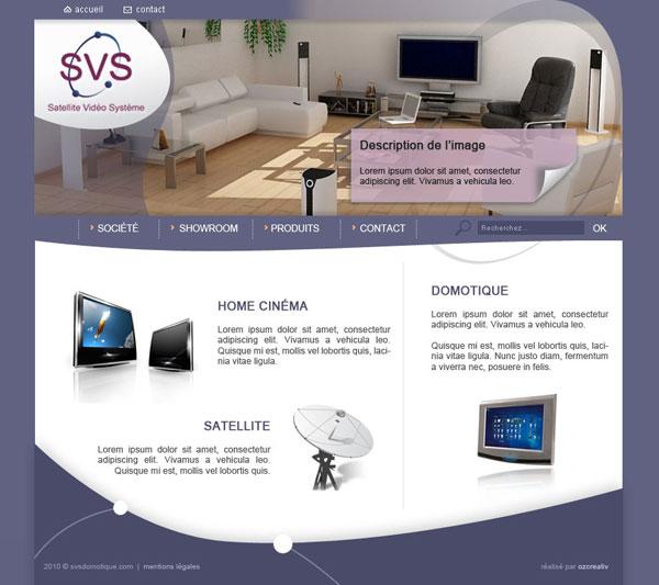 Aperçu du projet : SVS Domotique